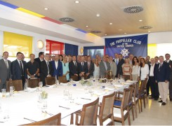Francisco Prado es reelegido como presidente del Propeller Club de Valencia